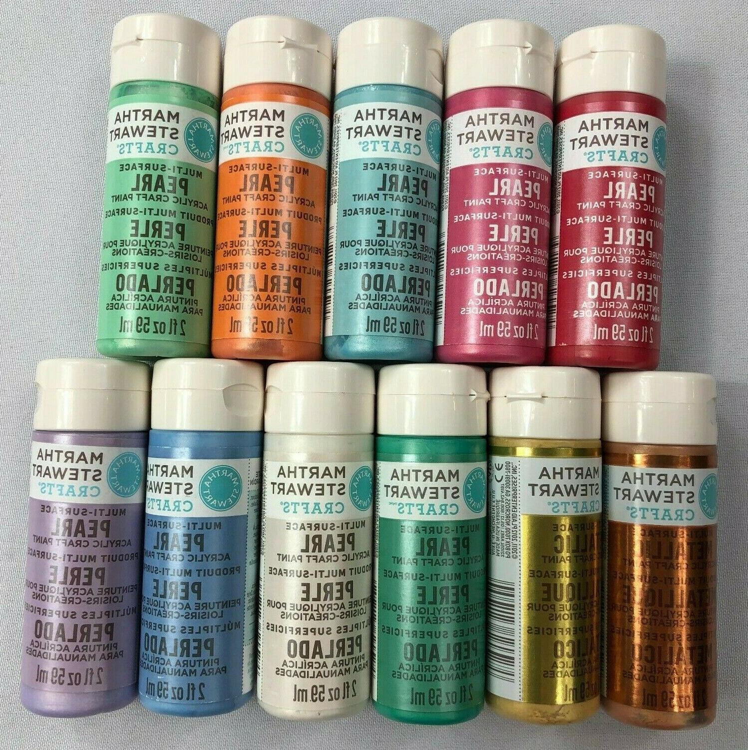 crafts multi surface paint set 11 count