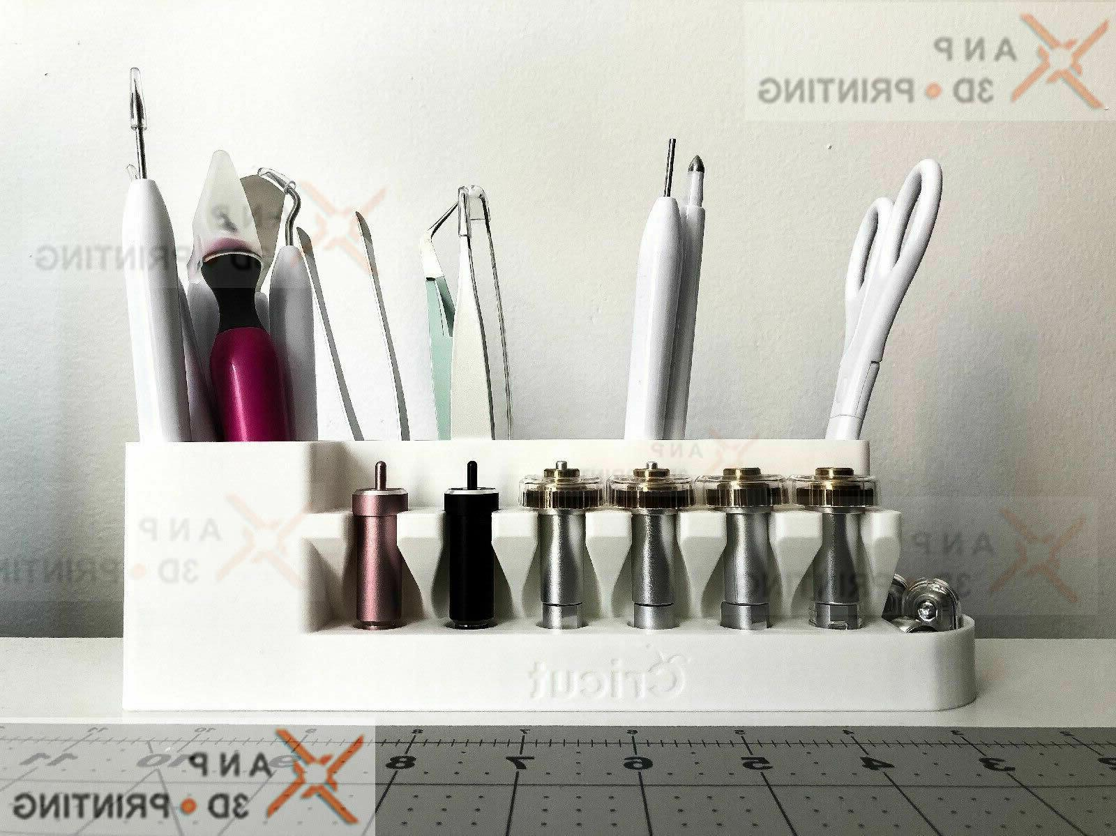 cricut tool holder and blade organizer blade