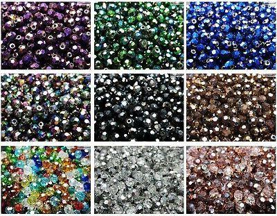 Czech Crystal 4mm Round Beads Bracelet Jewelry