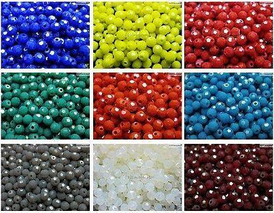 Czech Crystal Round Beads