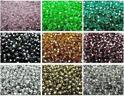 Czech Crystal Round Beads Bracelet