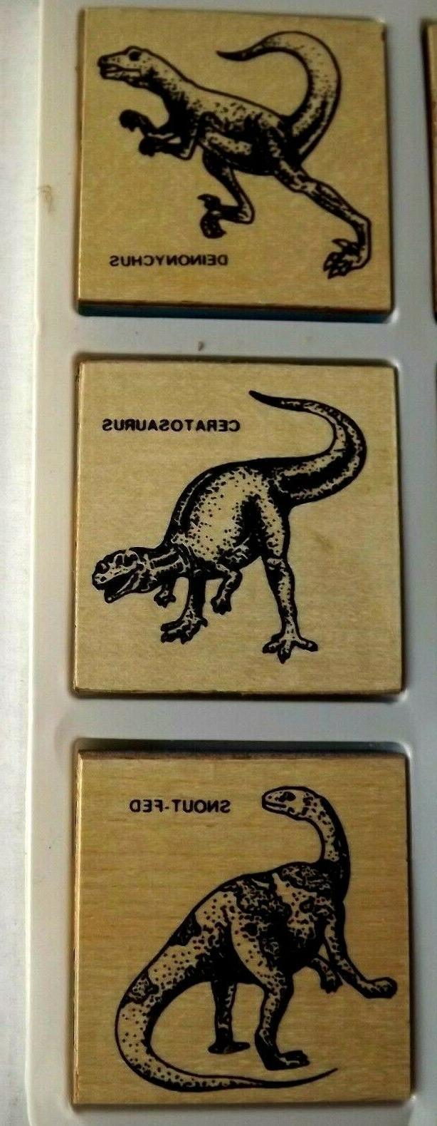 Dinosaur Stamp Set Toys Hobbies Age 4+