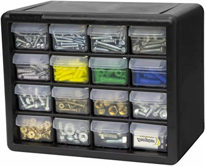Drawer Storage Cabinet Parts Organizer Bin