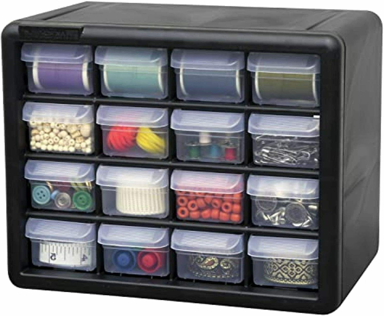 Drawer Storage Cabinet Parts Organizer Hardware Plastic