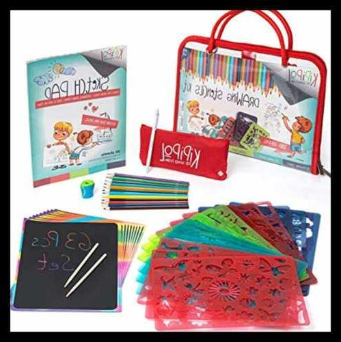 drawing stencils kit for kids ages 4