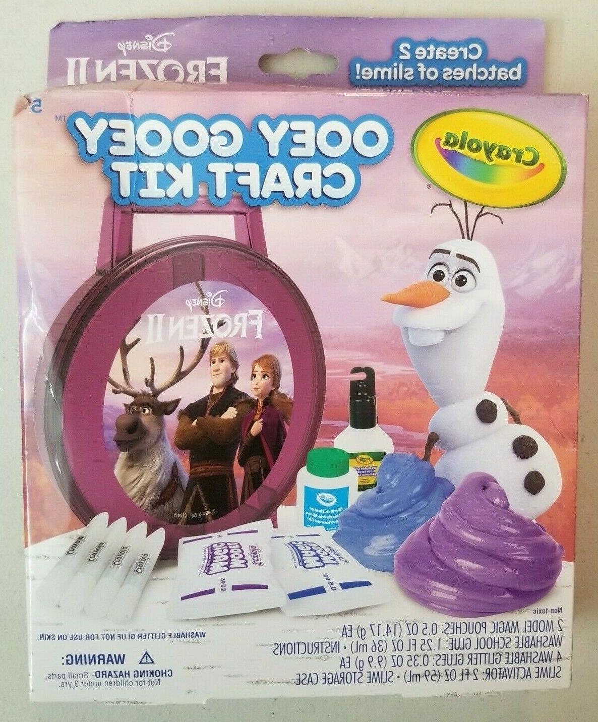 frozen 2 ooey gooey fun craft set