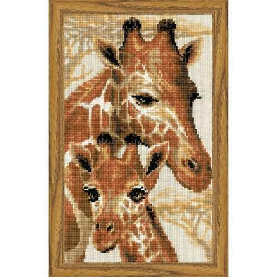 giraffes counted cross stitch kit
