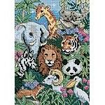 """Dimensions The Gold Collection Petites Cross Stitch Kit """"Fan"""