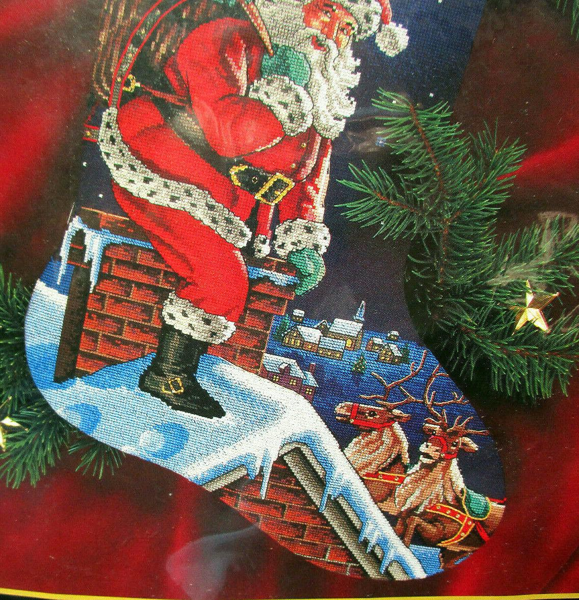 Dimensions Gold Santa Counted Cross Stitch Kit