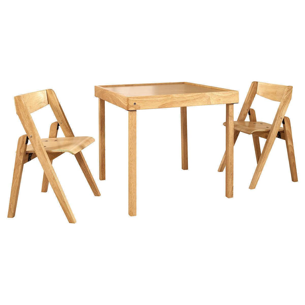 Indoor Furniture Piece Set Table 2 Chair Arts and Craft Table