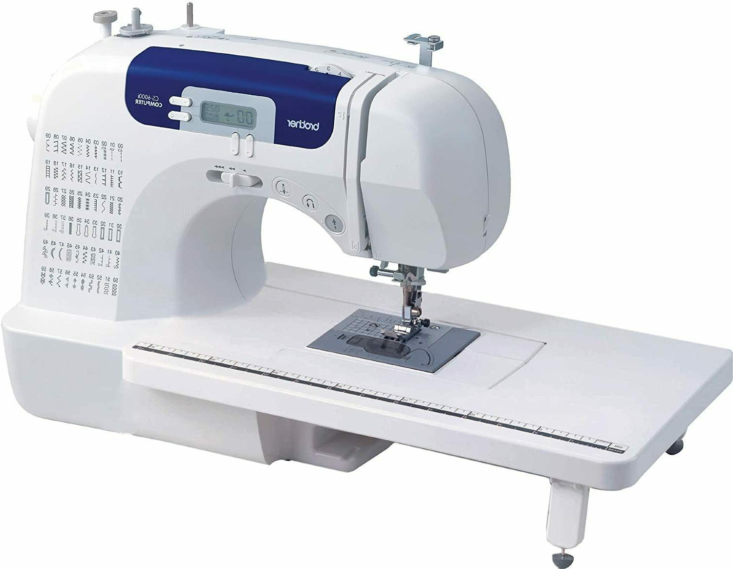 NEW Brother 60-Stitch Computerized Machine WideTable LCD