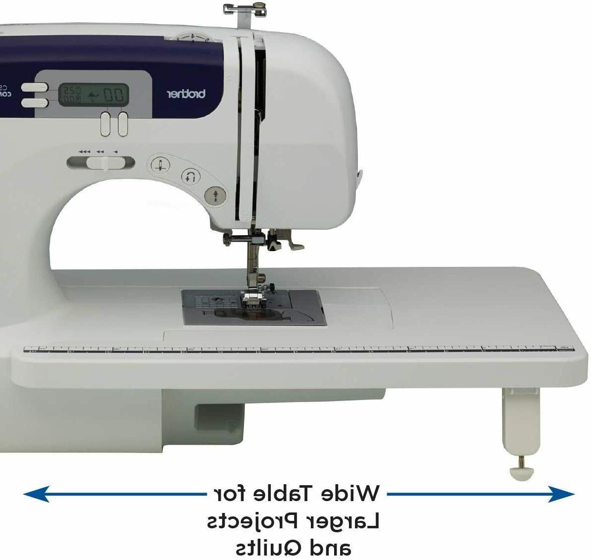 NEW CS6000i 60-Stitch Computerized WideTable