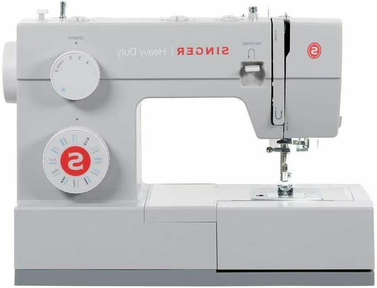 Singer Heavy Duty 4423 Sewing Machine - White with 23 Stitch