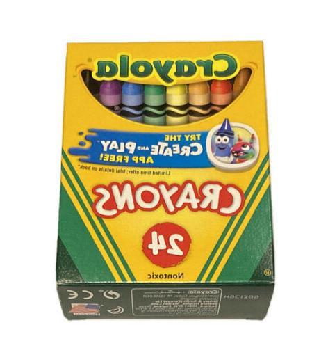 original nontoxic 52 3024 crayons preferred by