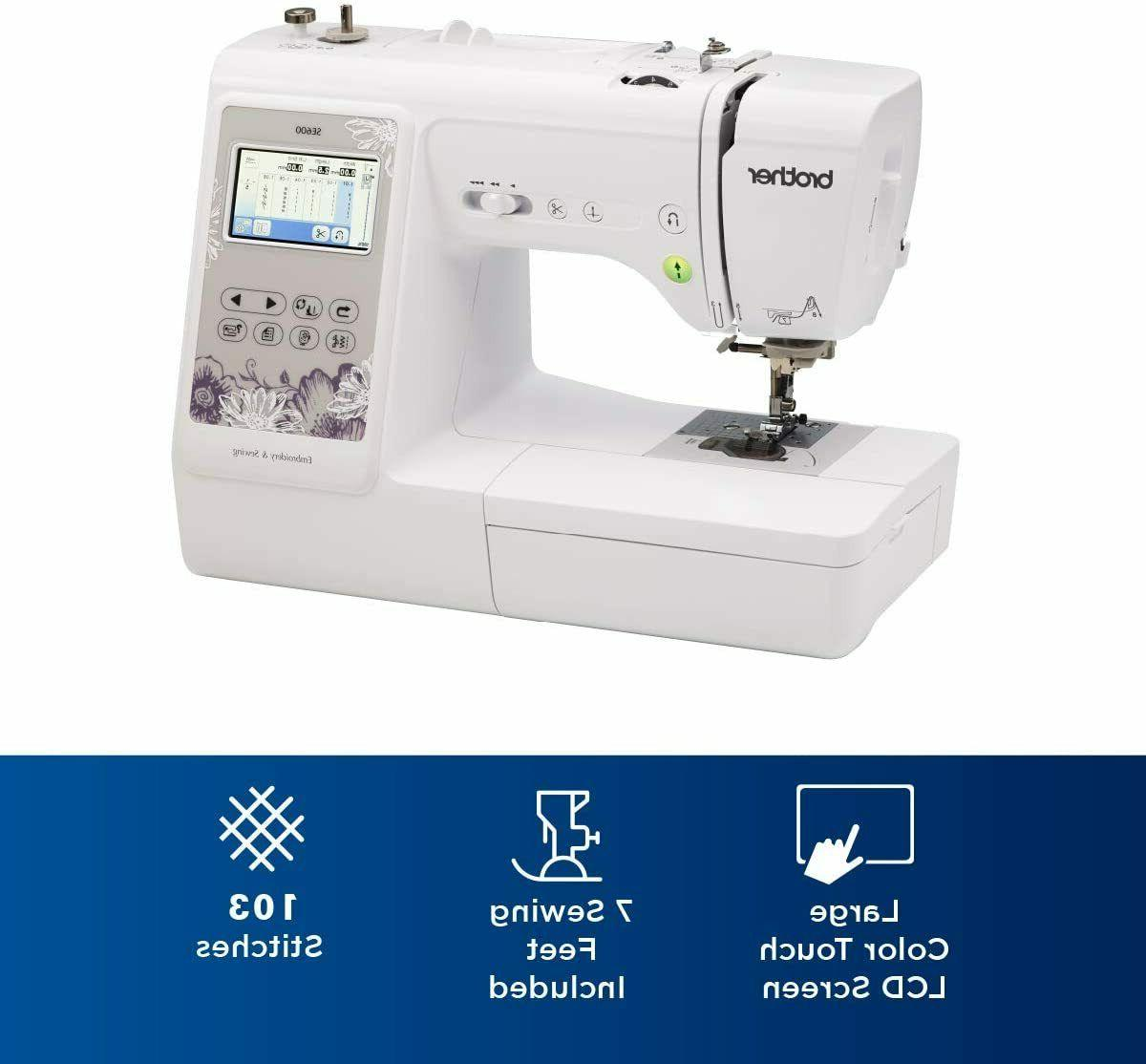 🧵Brother SE600 Computerized Sewing 🧵 IN STOCK