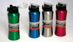 Stainless Steel Water Bottle - Flip Top Case Pack 24