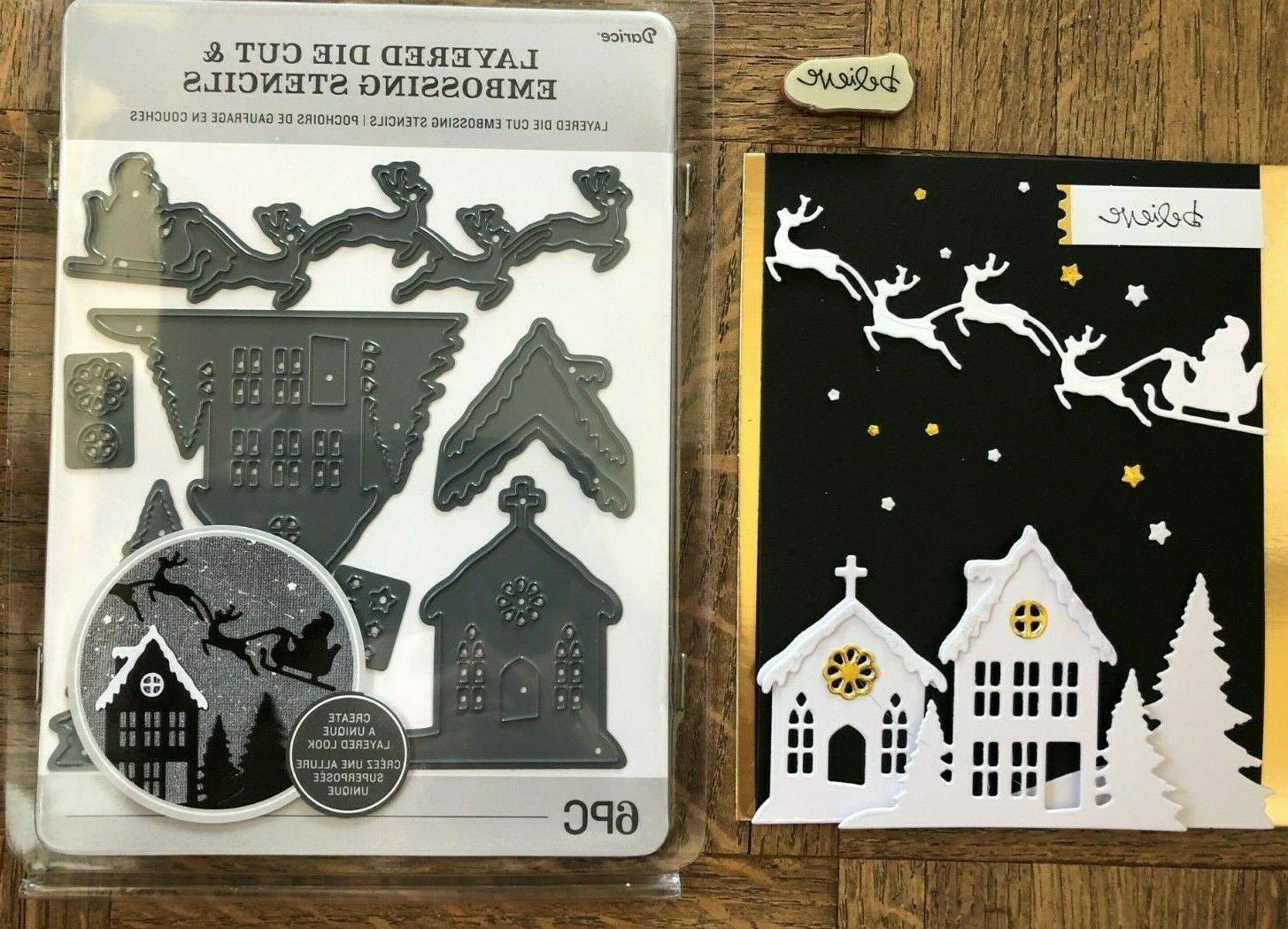 Stampin Up BELIEVE stamp A HOLIDAY LAYERING ~