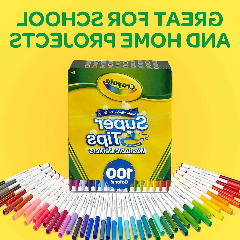 Crayola Super Markers 100