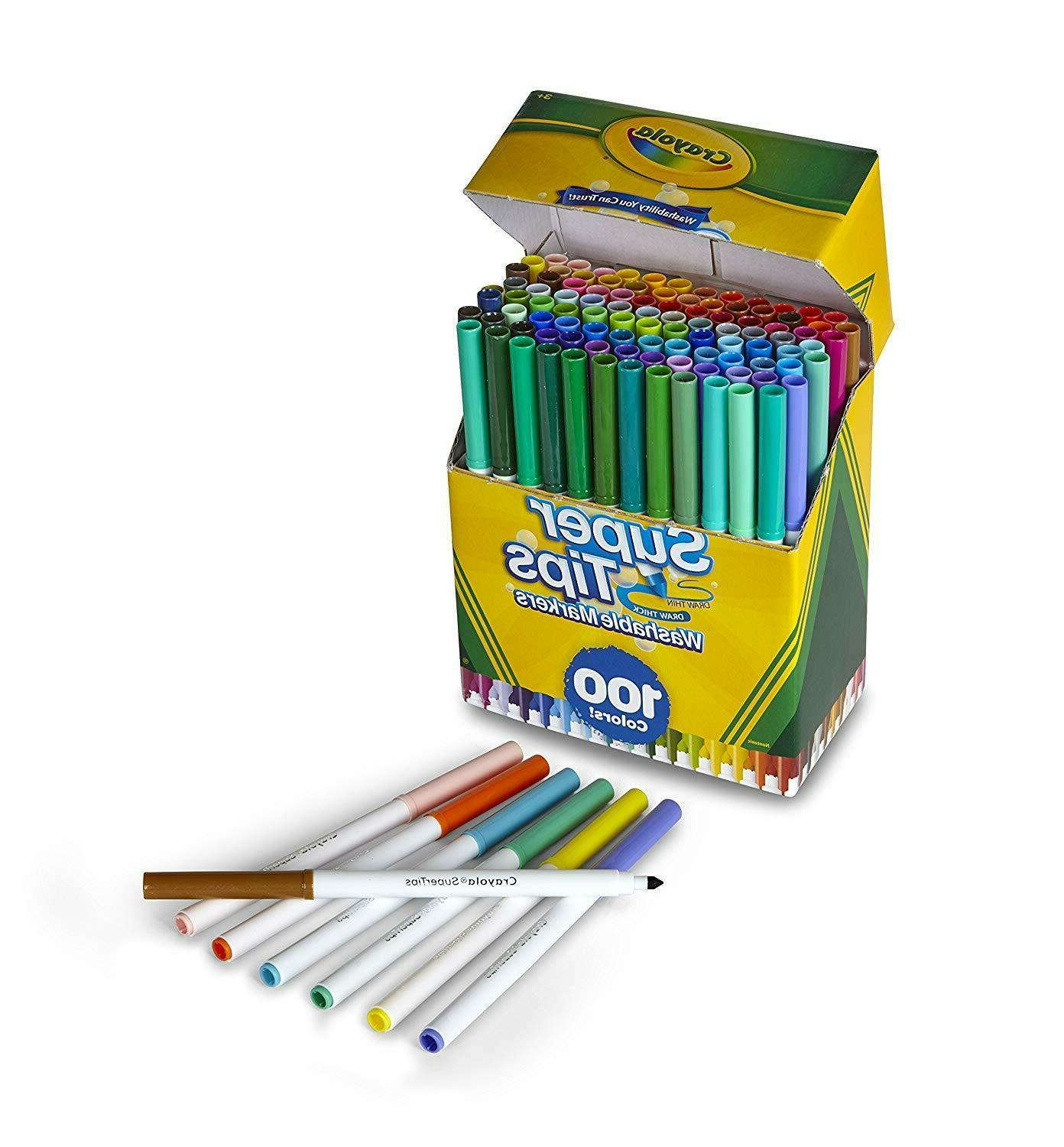 Crayola Tips Markers - Count