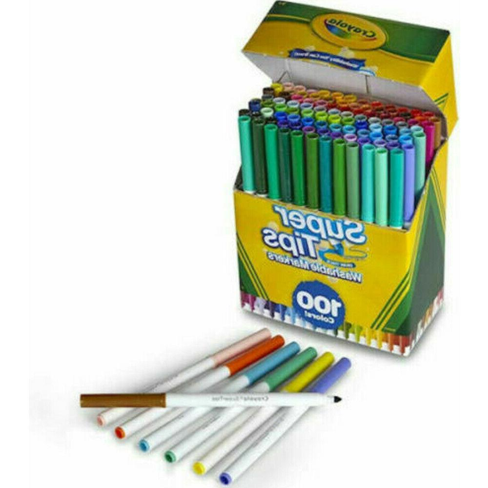 Crayola Super Washable Markers, - 100 Count
