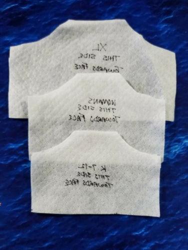 Washable Handmade Mask filter pocket FLAMINGOS