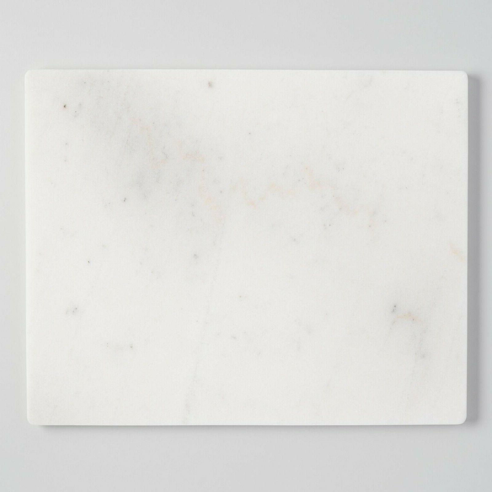 white marble pastry board crafted of white