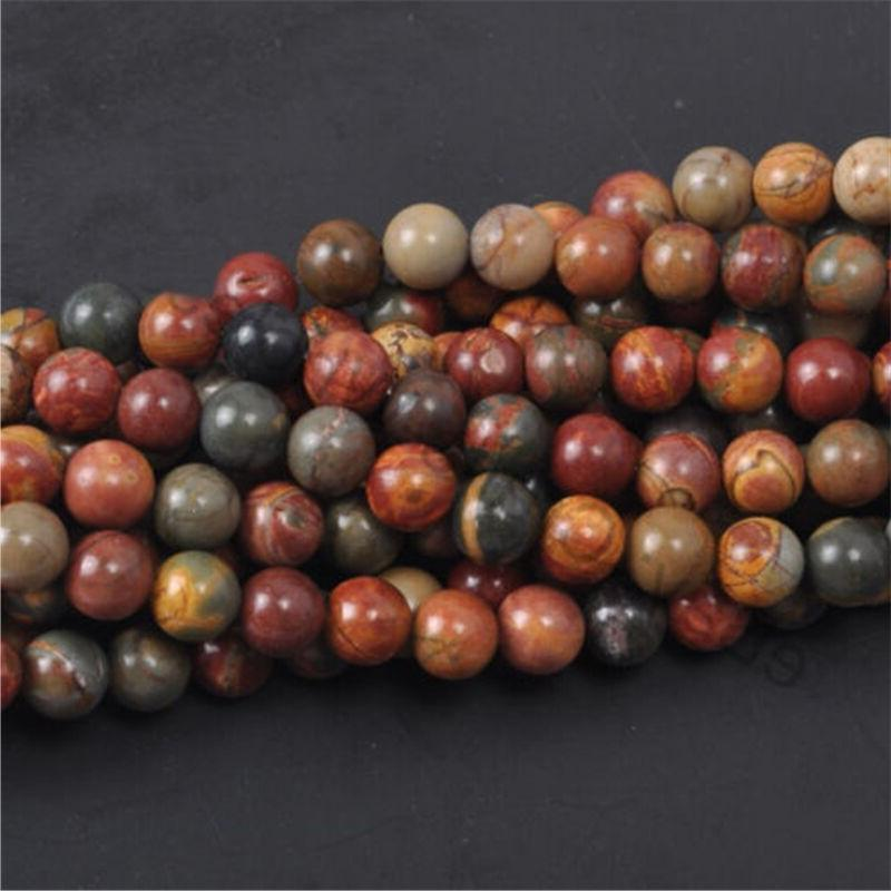Wholesale Natural Gemstone Round Loose Beads 4mm 6mm 12mm