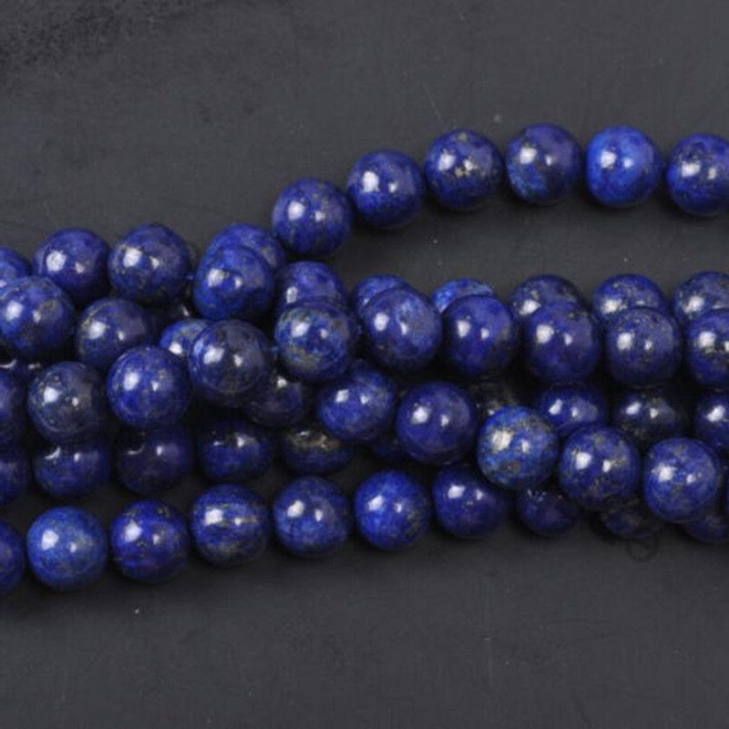 Wholesale Lot Natural Gemstone Round Spacer Loose Beads 4mm 6mm 8mm 12mm