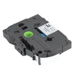 Laminated Label Tape TZE-131 TZE-231 Label Maker Tape Black