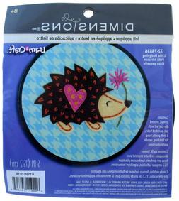 Dimensions Learn-A-Craft Felt Applique Kid's Craft Hedge Hog