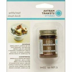 Martha Stewart Crafts Liquid Gilding , 32214 Gold
