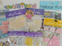 🦄 Lot Jolee's Boutique Stickers 3-D EMBELLISHMENTS Scrapb
