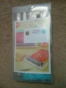 Martha Stewart Crafts Knit & Weave Loom Kit 30+ Configuratio