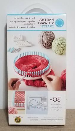 Lion Brand Yarn Martha Stewart Crafts Knit and Weave Loom Ki