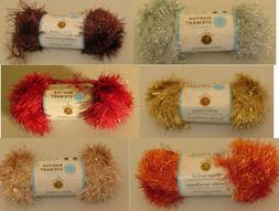 Martha Stewart Crafts with Lion Brand Yarn Glitter Eyelash Y