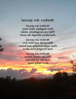 Mother Poem | Gift for Mom | Sunset View Photography | Origi