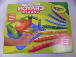 Crayola Motorized Crayon Carver Kids DIY Crafts Brand New Ch
