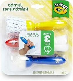 Crayola My First Jumbo Toddler Paint Brushes, Painting for T