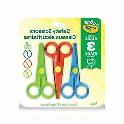 Crayola My First Safety Scissors, Art Supplies for Toddlers,