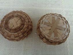 Native American basket, Indian crafts,sweet grass basket,