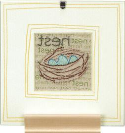 Nest - Embroidery Kit # 73528- Dimensions Crafts