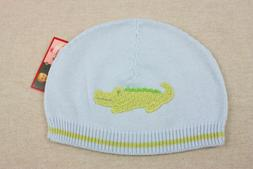 NEW Zubels Hand-crafted Gator Hat 6 9 12 months Boys Knit