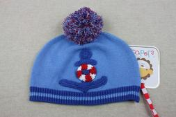 NEW Zubels Hand-crafted Seaside Hat 6 9 12 months Boys Knit