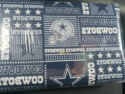 "NFL Dallas Cowboys  Cotton Fabric  9"" x 58""  Plaid"