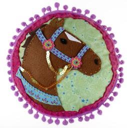 NIB American Girl Crafts Horse Pillow Kit   FUN all inclusiv