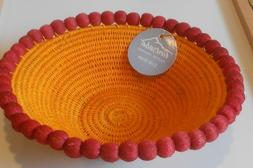 NWT Tintsaba Master Weavers Hand Crafted Table / Wall Sisal