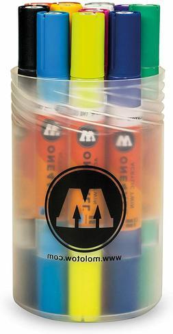 Molotow ONE4ALL Acrylic Twin Paint Markers - Main Kit No.1 -