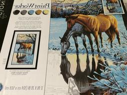 Dimensions Paint Works Paint By Number Kit reflections horse