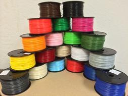 PLA/ABS 1.75 filament , 1 lb /spool, 18 spools in a Box