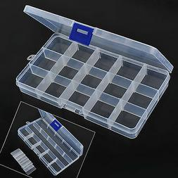 Plastic Box Jewelry Bead Storage Container Craft Organizer 1